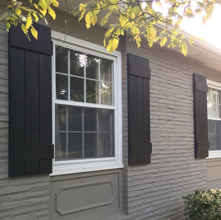 Custom Exterior Shutters. If you're looking to beautify your home with nuanced, understated accents, a new suite of vinyl custom exterior shutters is the answer. Vinyl shutters come in a wide range of styles and colors. If you need a specific color that isn't available, many industry styles come in a .